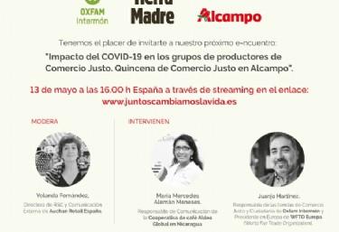 Impacto del COVID-19 en los grupos de productores dce Comercio Justo