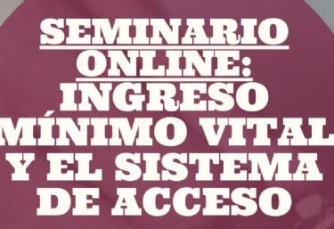 II Seminario Online sobre Ingreso Mínimo Vital y Sistema de Acceso