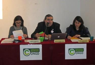 La Coordinadora Valenciana por la defensa de la cooperación y contra la corrupción.
