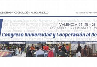 """VI CONGRESO UNIVERSIDAD Y COOPERACIÓN AL DESARROLLO """"Desarrollo Humano y Universidad"""""""