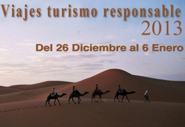 FIN DE AÑO EN EL SÁHARA. VIAJES TURISMO RESPONSABLE 2013