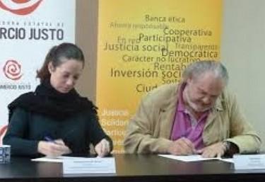 Acuerdo entre FIARE y la Coordinadora Estatal de Comercio Justo para promover el Comercio Justo y las finanzas éticas