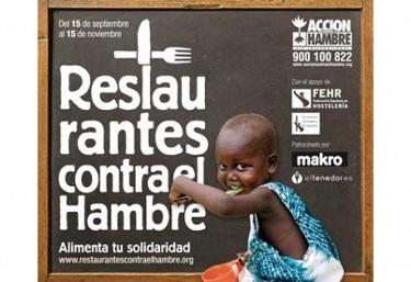 120.000 EUROS PARA LUCHAR CONTRA LA DESNUTRICIÓN GRACIAS AL SECTOR HOSTELERO