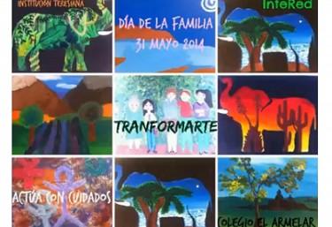 """Exposición """"Arte y solidaridad"""" en el Colegio El Armelar de Valencia"""