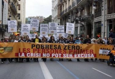Vídeo de la manifestació Pobresa Zero 2015