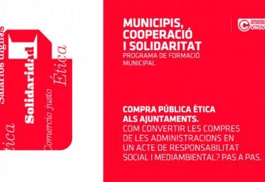 Compra pública ètica als ajuntaments: Com convertir les compres de les administracions en un acte de responsabilitat social i mediambiental?