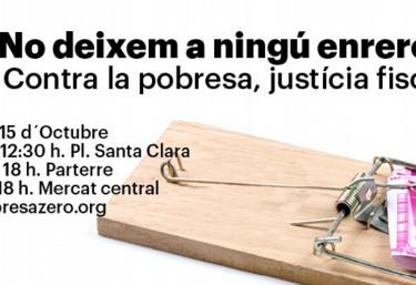DESCARREGA els cartells i el material de difusió de la campanya Pobresa Zero 2016