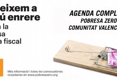 17 municipios valencianos celebrarán movilizaciones contra la pobreza organizadas por POBRESA ZERO