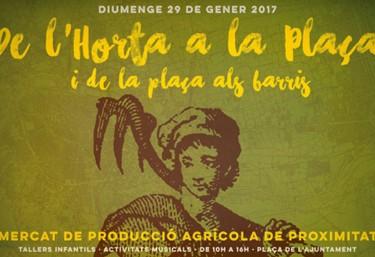 """El Comercio Justo estará presente en Mercado """"De l'Horta a la Plaça"""" en la Plaza del Ayuntamiento de Valencia"""