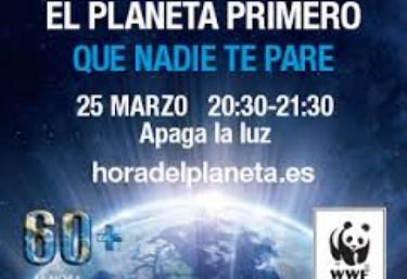 Nos sumamos a la hora del planeta, ¿y tú?
