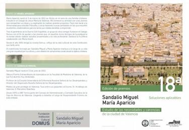 18ª edición de los Premios Sandalio Miguel - María Aparicio