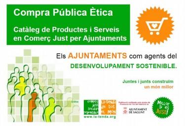 Compra Pública Ètica: Catàleg de Productes i Serveis en Comerç Just per Ajuntaments