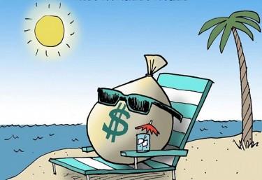 Las 50 mayores empresas estadounidenses ocultan 1,6 billones de dólares en paraísos fiscales
