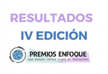 Resultados de la IV Edición de los Premios Enfoque