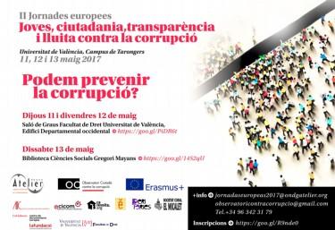 II Jornadas Europeas Jóvenes – Ciudadanía – Transparencia y Lucha contra la Corrupción