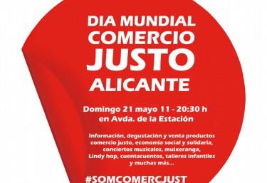 DÍA MUNDIAL DEL COMERCIO JUSTO 2017 EN ALICANTE