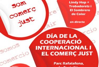 DIA DE LA COOPERACIÓ INTERNACIONAL I DEL COMERÇ JUST 2017 EN CASTELLÓ DE LA PLANA