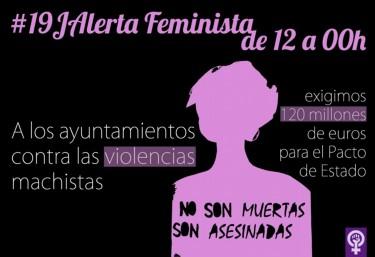 La CVONGD y Pobresa Zero se adhieren a #19J Alerta Feminista contra las Violencias Machistas