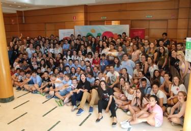 Encuentro La Caja: Jóvenes, docentes y autoridades políticas buscan solución a problemas sociales