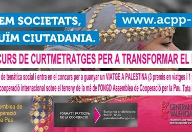 Continua en marcha el Concurso de Cortometrajes para transformar el mundo de ACPP