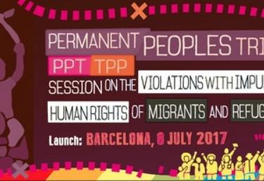 Presentación del TPP sobre las violaciones de los derechos humanos de las personas migrantes y refugiadas
