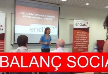 TALLER BALANÇ SOCIAL #EMPRESESAMBVALORS #FINANCESETIQUES