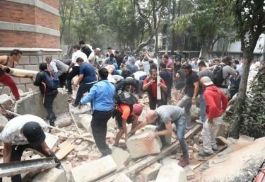Terremoto en México: la ayuda inmediata es esencial para salvar vidas
