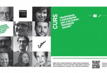 """Curs """"Activisme i voluntariat per la transformació social 2017-18"""""""
