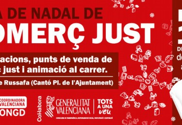 "FIRA DE NADAL ""#SomComerçJust també al Nadal"""