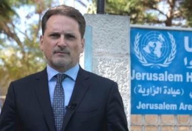 Comunicado desde Jerusalén de Pierre Krähenbühl, Comisionado General de UNRWA