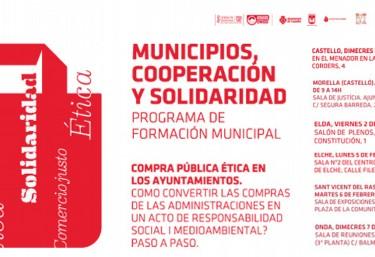 Municipios, Cooperación y Solidaridad, Programa de formación municipal de Compra Pública Ética