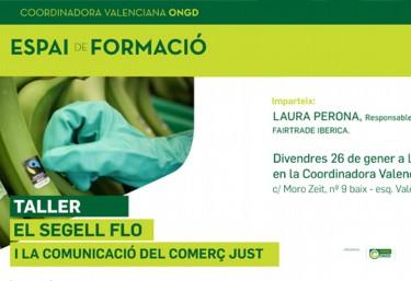 """FORMACIÓ INTERNA """"Segell FLO y la Comunicació del Comerç Just"""""""