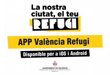 APP Valencia Refugi per facilitar informació d´utilitat a persones refugiades en València