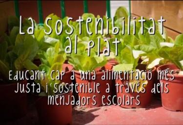 La Sostenibilitat al Plat: transitando hacia unos comedores escolares sostenibles en Valencia