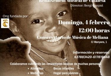 Proyso organiza un concierto solidario a beneficio de proyectos en Guinea Ecuatorial.