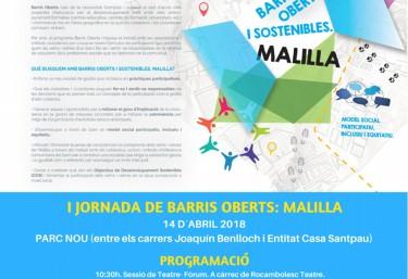 I Jornada de Barrios Abiertos: Malilla