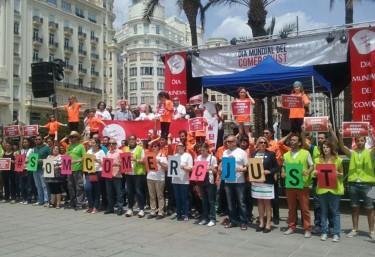 Cerca de una treintena de ONGD y universidades celebrarán este mes de mayo actos para promover el comercio justo en la Comunitat Valenciana