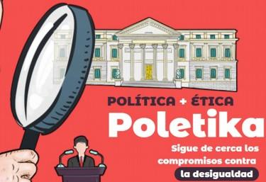 Polétika presenta el informe Paso atrás en la legislatura del cambio