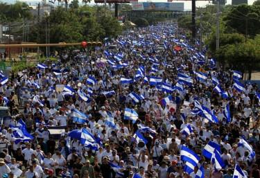 La Coordinadora pide al Gobierno nicaragüense el cese de la represión y el respeto a los derechos humanos