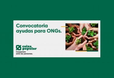 """Caixa Popular: CONVOCATÒRIA OBERTA AJUDES """"UN DIA DE SALARI"""""""