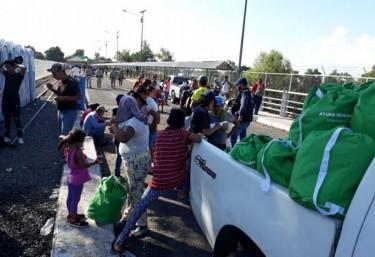 Oxfam apoya a migrantes de la caravana en Guatemala y México con ayuda humanitaria