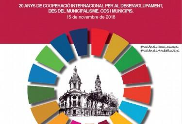 """Jornada """"20 AÑOS DE COOPERACIÓN INTERNACIONAL PARA EL DESARROLLO, DESDE EL MUNICIPALISMO. ODS Y MUNICIPIOS""""."""