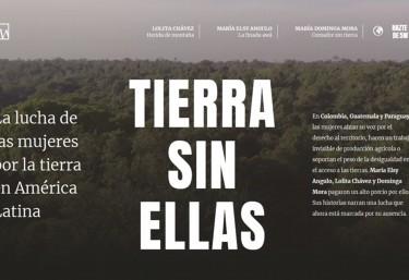 5W Tierra sin ellas: La lucha de las mujeres por la tierra en América Latina