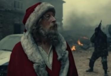 ¿A quién busca Papá Noel en medio de una guerra?