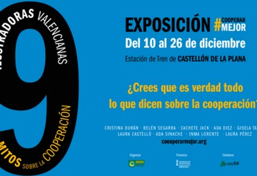 Inauguración de la expo #CooperarMejor en Castellón