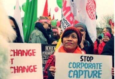 Nos sumamos a las demandas de los pueblos en la Cumbre del Clima