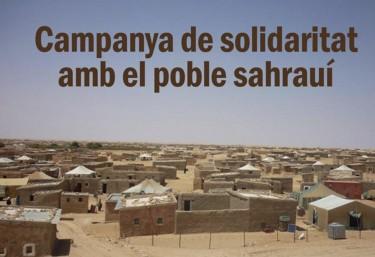 Solidaritat amb el poble sahrauí