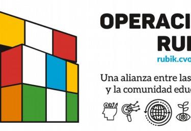 La Coordinadora Valenciana de ONGD propone la «Operación Rubik», una plataforma de recursos online para toda la comunidad educativa