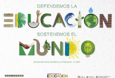 DEL 1 AL 7 DE ABRIL, SEMANA DE ACCIÓN MUNDIAL POR LA EDUCACIÓN (#SAME2019)