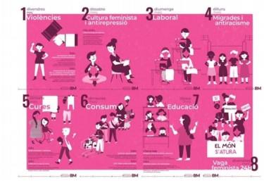 8 dies de revolta feminista València cap a la Vaga Feminista del 8 de Març